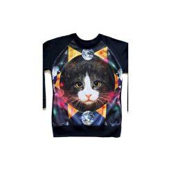 Bluza COSMIC CAT. Czarne bluzy damskie Missspark, z nadrukiem, z bawełny. Za 220.00 zł.