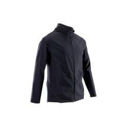 Bluza na zamek fitness kardio FVE900 męska. Czarne bluzy męskie DOMYOS. Za 119.99 zł.