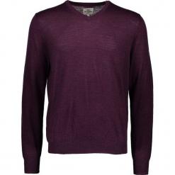 Sweter w kolorze fioletowym. Fioletowe swetry przez głowę męskie Ben Sherman, z wełny. W wyprzedaży za 195.95 zł.