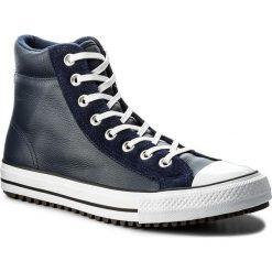 Trampki CONVERSE - Ctas Boot Pc Hi 157495C Midnight Navy/White. Niebieskie trampki męskie Converse, z gumy. W wyprzedaży za 289.00 zł.