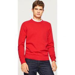 Gładki sweter - Czerwony. Swetry przez głowę męskie marki Giacomo Conti. W wyprzedaży za 59.99 zł.