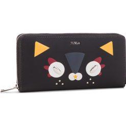 Duży Portfel Damski FURLA - Ginger 979125 P PAK9 VFO Toni Onyx. Czarne portfele damskie Furla, ze skóry. Za 875.00 zł.