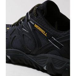Merrell ALL OUT BLAZE AERO SPORT Obuwie hikingowe black. Trekkingi męskie Merrell, z materiału, outdoorowe. Za 479.00 zł.