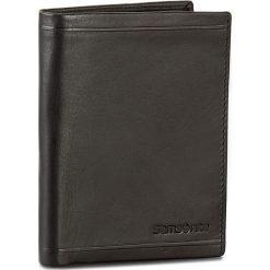 Duży Portfel Męski SAMSONITE - 001-01460-0282-01 Black. Czarne portfele męskie Samsonite, ze skóry. Za 199.00 zł.