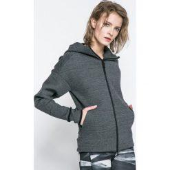 Adidas Performance - Bluza. Szare bluzy damskie adidas Performance, z bawełny. W wyprzedaży za 359.90 zł.