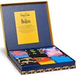 Happy Socks - Skarpetki The Beatles Collector (6-pack). Szare skarpety damskie Happy Socks. W wyprzedaży za 199.90 zł.