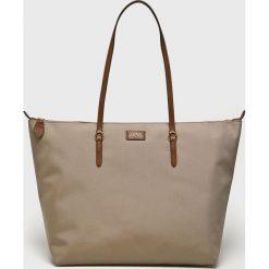 Lauren Ralph Lauren - Torebka. Szare torby na ramię damskie Lauren Ralph Lauren. Za 599.90 zł.