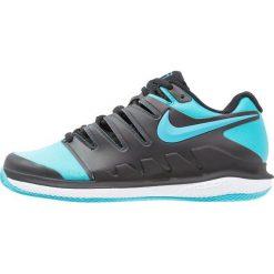 Nike Performance AIR ZOOM VAPOR X CLAY Obuwie do tenisa Outdoor black/gamma blue/white. Buty sportowe chłopięce Nike Performance, z gumy. Za 399.00 zł.