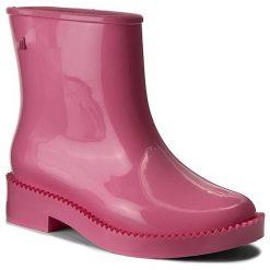 Kalosze MELISSA - Rain Drop Boot Ad 32185 Pink 01369. Czerwone kozaki damskie Melissa, z materiału. W wyprzedaży za 279.00 zł.