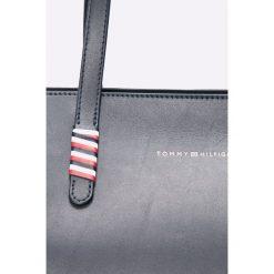 Tommy Hilfiger - Torebka skórzana. Szare torby na ramię damskie Tommy Hilfiger. Za 1,149.00 zł.