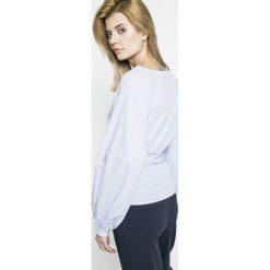 Vero Moda - Bluzka Multi. Szare bluzki damskie Vero Moda, z bawełny, casualowe. W wyprzedaży za 79.90 zł.