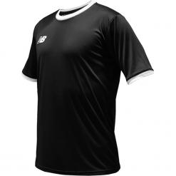 Koszulka treningowa - EMT6112BK. Czarne koszulki sportowe męskie New Balance, na jesień, z materiału. Za 89.99 zł.
