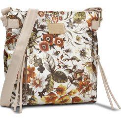 Torebka MONNARI - BAG1601 White With Orange With Beige. Brązowe listonoszki damskie Monnari, ze skóry ekologicznej. W wyprzedaży za 119.00 zł.