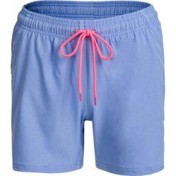 Spodenki damskie SKDT602 - jasny niebieski - Outhorn. Niebieskie szorty damskie Outhorn, z materiału. W wyprzedaży za 39.99 zł.