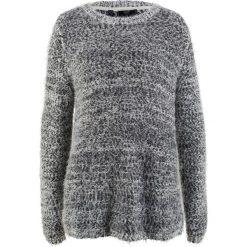 Sweter, długi rękaw bonprix czarno-biel wełny. Swetry damskie marki bonprix. Za 99.99 zł.