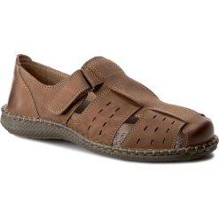 Sandały CESARE CAVE - MI07-C312-350-01 Brązowy. Sandały męskie marki Wojas. Za 159.99 zł.