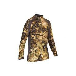Koszulka Respi BGS900D Furtiv. Brązowe bluzki z długim rękawem męskie SOLOGNAC, z wełny. Za 169.99 zł.