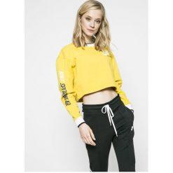 Nike Sportswear - Bluza dwustronna. Białe bluzy damskie Nike Sportswear, z nadrukiem, z bawełny. W wyprzedaży za 219.90 zł.