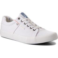 Tenisówki BIG STAR - AA174097A White. Białe trampki męskie Big Star, z gumy. Za 99.00 zł.