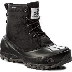 Śniegowce THE NORTH FACE - Tsumoru Boot T93MKTWE3 Tnf Black/Dark Gull Grey. Czarne kozaki damskie The North Face, z gumy. W wyprzedaży za 329.00 zł.