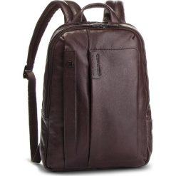 Plecak PIQUADRO - CA3869P15S/TM Brązowy. Brązowe plecaki damskie Piquadro, z materiału. Za 1,229.00 zł.