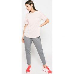 Adidas Performance - Top. Szare topy damskie adidas Performance, z krótkim rękawem. W wyprzedaży za 99.90 zł.