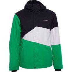 """Kurtka narciarska """"Inventorz"""" w kolorze czarno-biało-zielonym. Kurtki snowboardowe męskie Zimtstern, z materiału. W wyprzedaży za 646.95 zł."""
