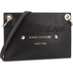 Torebka VERSACE JEANS - E1VSBBS6 70789 899. Czarne listonoszki damskie Versace Jeans, z jeansu. Za 619.00 zł.