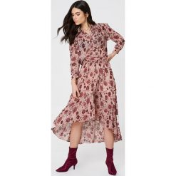 Second Female Koszula Bohemia - Pink,Multicolor. Różowe koszule damskie Second Female, z falbankami, z długim rękawem. W wyprzedaży za 186.38 zł.