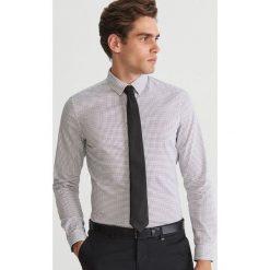 Koszula super slim fit - Kremowy. Białe koszule męskie Reserved. Za 69.99 zł.
