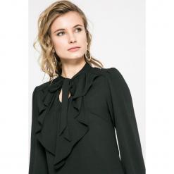 Vero Moda - Bluzka. Czarne bluzki damskie Vero Moda, z elastanu, casualowe. W wyprzedaży za 79.90 zł.