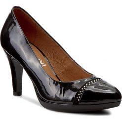 Półbuty CAPRICE - 9-22412-29 Black Pat/Comb 052. Czarne półbuty damskie Caprice, z materiału, eleganckie. W wyprzedaży za 209.00 zł.