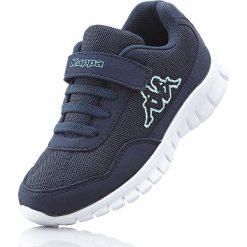 Sneakersy Kappa bonprix ciemnoniebiesko-miętowy. Buty sportowe chłopięce marki bonprix. Za 89.99 zł.