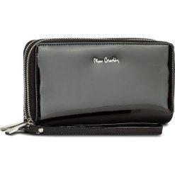 Duży Portfel Damski PIERRE CARDIN - 05 LINE 118 Black 19257. Czarne portfele damskie Pierre Cardin, z lakierowanej skóry. W wyprzedaży za 139.00 zł.