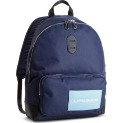 Plecak CALVIN KLEIN JEANS - SP Essential + Cp Backpack 45 K40K400798 453. Niebieskie plecaki damskie Calvin Klein Jeans, z jeansu. Za 399.00 zł.