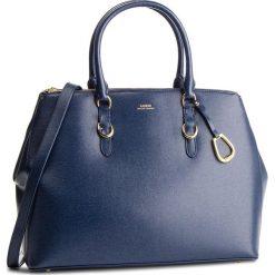 Torebka LAUREN RALPH LAUREN - Bennington 431723642003 Navy. Niebieskie torby na ramię damskie Lauren Ralph Lauren, ze skóry. Za 1,439.00 zł.