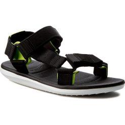 Sandały RIDER - Rx Sandal Ad 82137 White/Black/Green 22157. Czarne sandały męskie Rider, z materiału. W wyprzedaży za 129.00 zł.