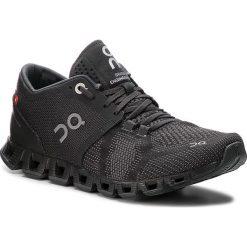 Buty ON - Cloud X 000020 Black/Asphalt 4006. Czarne obuwie sportowe damskie On, z materiału. Za 649.00 zł.