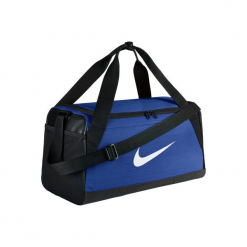 Torba fitness Brazylia. Niebieskie torby sportowe męskie Nike, z materiału. Za 119.99 zł.