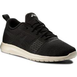 Buty ASICS - Kanmei Mx T899N Black/Black/Birch 9090. Czarne obuwie sportowe damskie Asics, z materiału. W wyprzedaży za 189.00 zł.