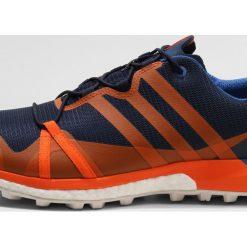 Adidas Performance TERREX AGRAVIC GTX Obuwie hikingowe conavy/orange/blubea. Buty sportowe męskie adidas Performance, z materiału, outdoorowe. W wyprzedaży za 407.40 zł.