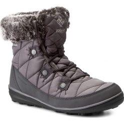 Śniegowce COLUMBIA - Heavenly Shorty Omni-Heat BL1652 Quarry/Dove 052. Śniegowce i trapery damskie Columbia, z materiału. W wyprzedaży za 289.00 zł.