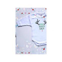 Moje Pierwsze Święta - Body dla Niemowlaka - prezent świąteczny dla noworodka - prezent świąteczny dla niemowlaka. Body niemowlęce marki Pollena Savona. Za 57.00 zł.