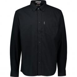 """Koszula """"Oxford"""" - Regular fit - w kolorze czarnym. Czarne koszule męskie Ben Sherman, z bawełny, button down. W wyprzedaży za 130.95 zł."""
