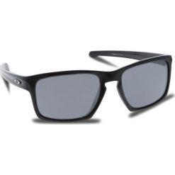 Okulary przeciwsłoneczne OAKLEY - Sliver OO9262-04 Polished Black/Black Iridium. Czarne okulary przeciwsłoneczne męskie Oakley, z tworzywa sztucznego. W wyprzedaży za 449.00 zł.