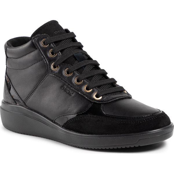 Sneakersy GEOX D Tahina F D94BDF 08522 C9999 Black
