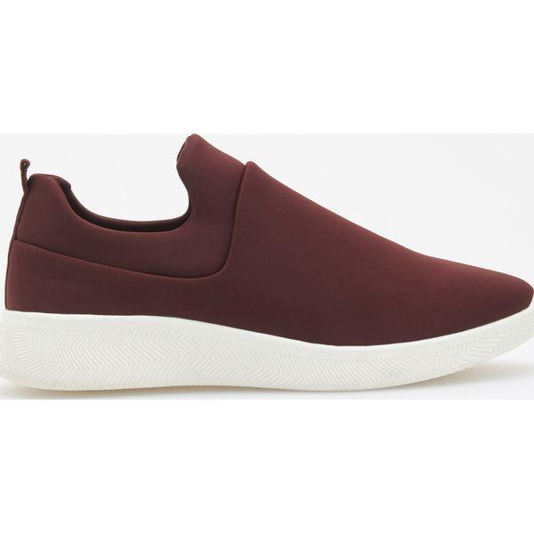 36b0b2d1 Buty w sportowym stylu - Bordowy - Czerwone obuwie sportowe damskie ...