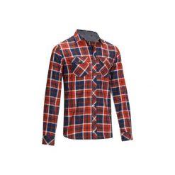 Koszula jeździecka Sentier męska. Brązowe koszule męskie OKKSO, z bawełny. W wyprzedaży za 79.99 zł.