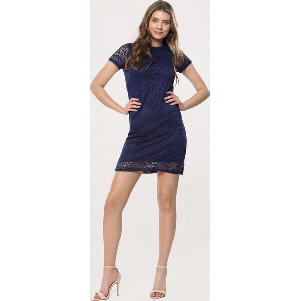7c6aa62b94 Granatowa Sukienka Loose Fitting - Sukienki dla dziewczynek marki ...