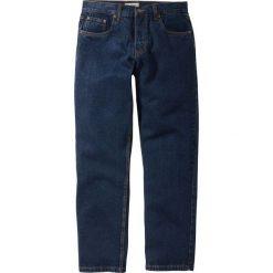 Dżinsy Regular Fit Straight bonprix ciemnoniebieski. Jeansy męskie marki bonprix. Za 74.99 zł.